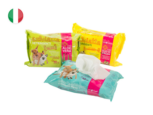 SALVIETTE PET TISSUE