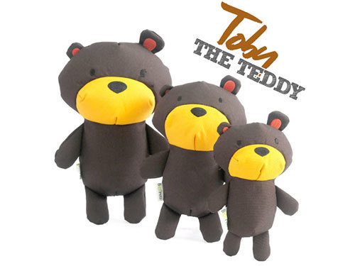 [SOFT TOY] TOBY - THE TEDDY