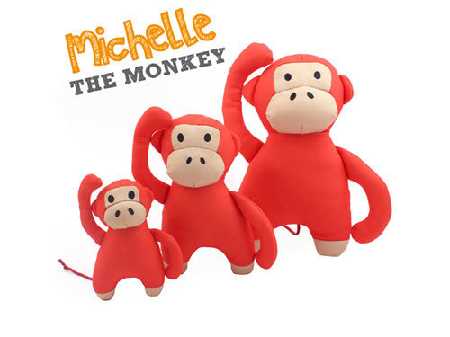 [SOFT TOY] MICHELLE - THE MONKEY
