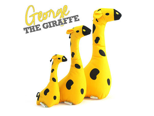 [SOFT TOY] GEORGE - THE GIRAFFE