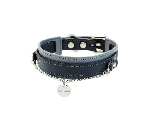 [COLLAR] DUET - GRAY & BLACK
